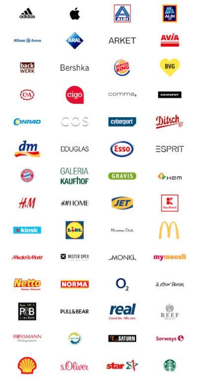Eine Übersicht der Händler, die an Apple Pay teilnehmen