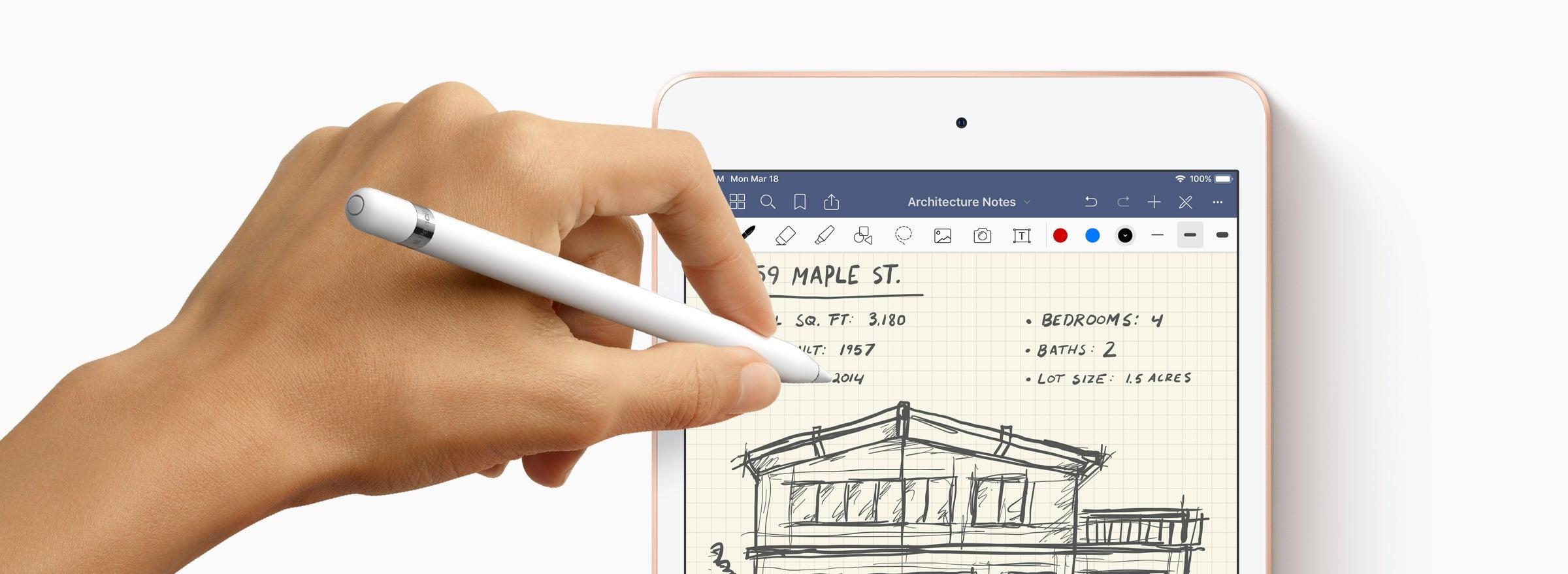 Apple Pencil und iPad Mini