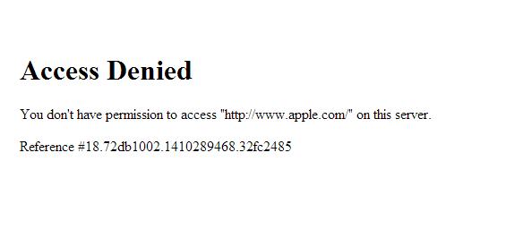 Die Apple-Server waren dem Nutzeransturm während der Präsentation von iPhone 6 und Apple Watch nicht gewachsen.