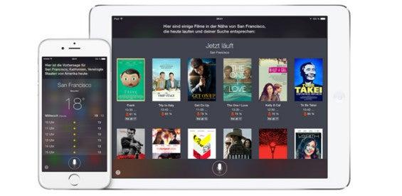 Apple Sprachsteuerung Siri
