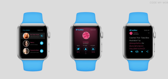 Apple Watch App-Design ThinkApps