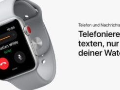 Tim Cook stellt Apple Watch Series 3 vor