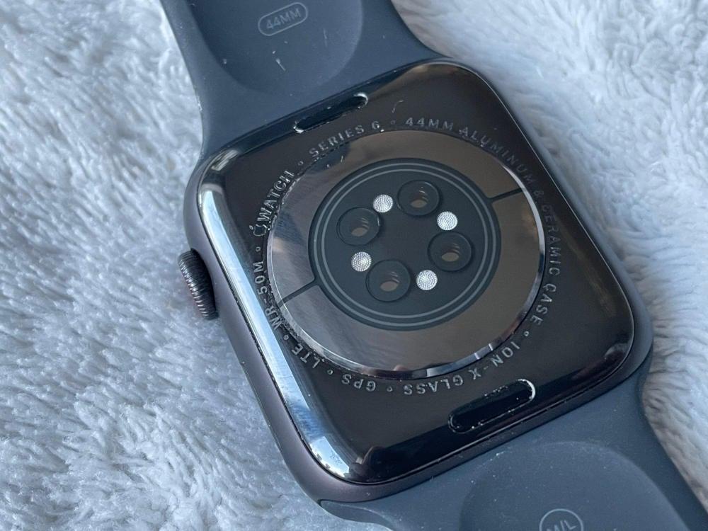 Apple Watch Series 6 Rückseite