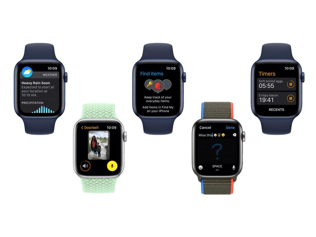watchOS 8 beinhaltet zahlreiche neue Features für die Apple Watch
