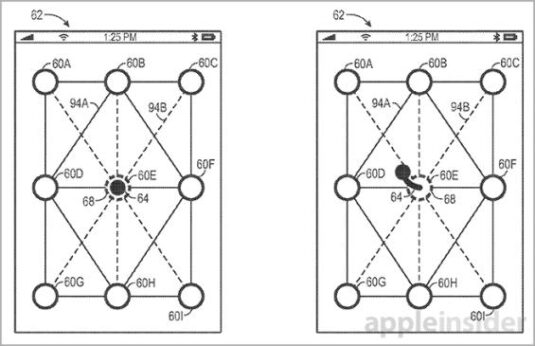 Apple-Patent zur Display-Entsperrung