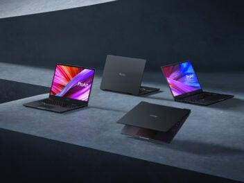 Die neuen Asus Laptops.
