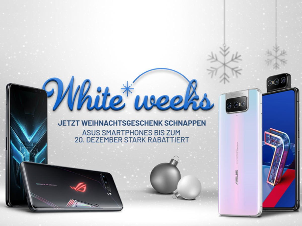White Week bei Asus