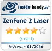 Asus ZenFone 2 Laser Testsiegel