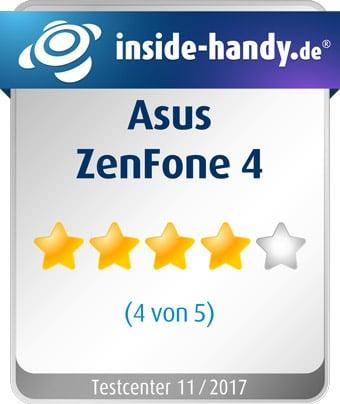 Asus ZenFone 4 im Test: 4 von 5 Sterne