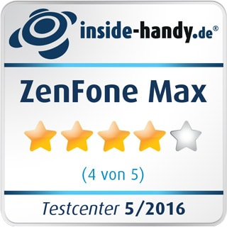 Asus ZenFone Max – 4 Sterne