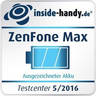 Asus ZenFone Max – Ausgezeichneter Akku