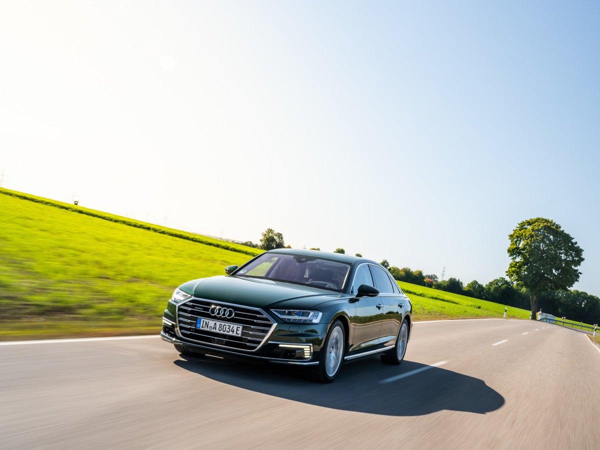 Audi A8 als Plug-in-Hybrid