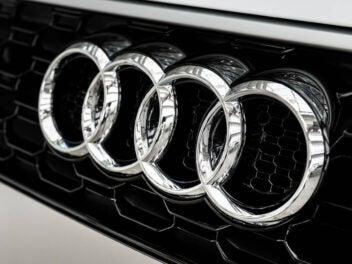 Audi Ringe an Kühlergrill