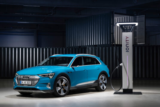 Audi etron charger