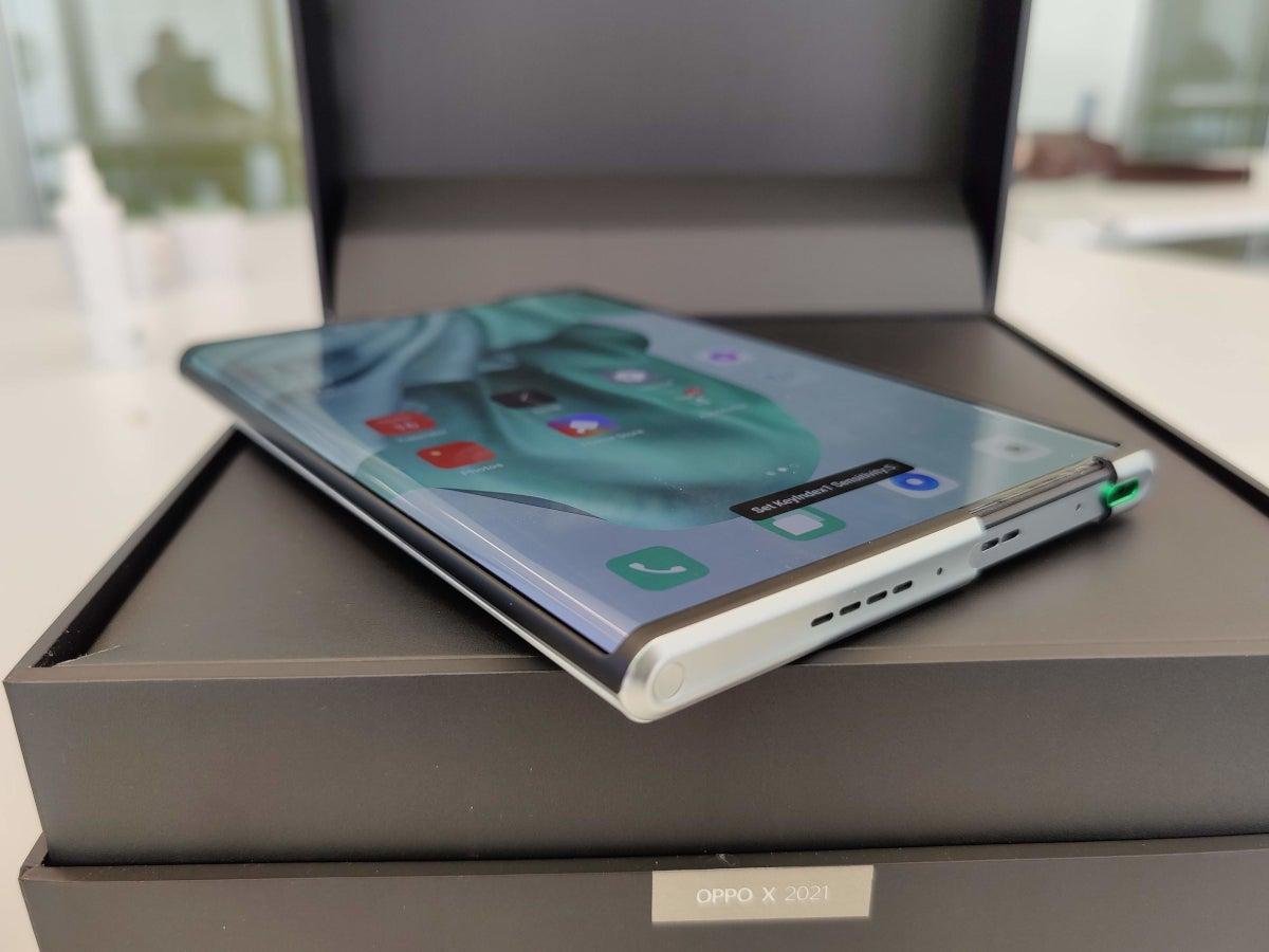 Samsung und Huawei auf dem falschen Weg: Oppo X 2021 zeigt, wie es geht - inside digital