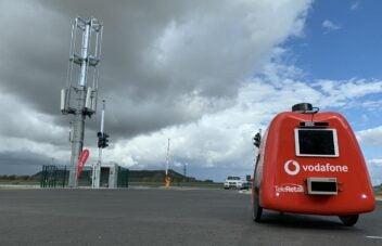 Vodafone-Testgelände für autonomes Fahren