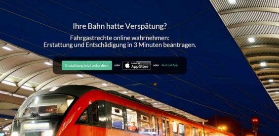 Bahn-App Zug-Erstattung