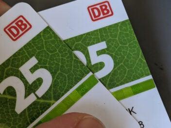 Bahncard, Bahncard25, BC, Bahn