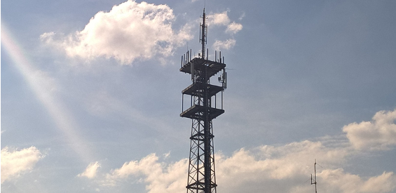 Mobilfunk-Basisstation in Münster