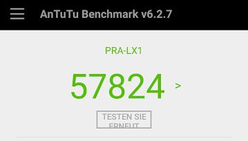 Benchmark-Test des Huawei P8 Lite 2017