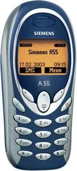 BenQ-Siemens A55 Datenblatt - Foto des BenQ-Siemens A55