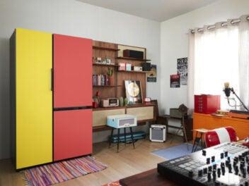 Samsung Bespoke Kühlschrank als Design-Element