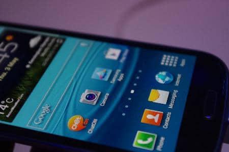 Bilder vom Samsung Galaxy S3