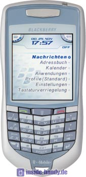 Blackberry 7100t Datenblatt - Foto des Blackberry 7100t