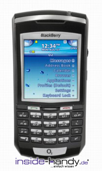 Blackberry 7100x Datenblatt - Foto des Blackberry 7100x