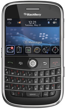 Blackberry Bold 9000 Datenblatt - Foto des Blackberry Bold 9000