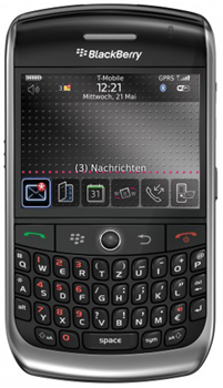 Blackberry Curve 8900 Datenblatt - Foto des Blackberry Curve 8900