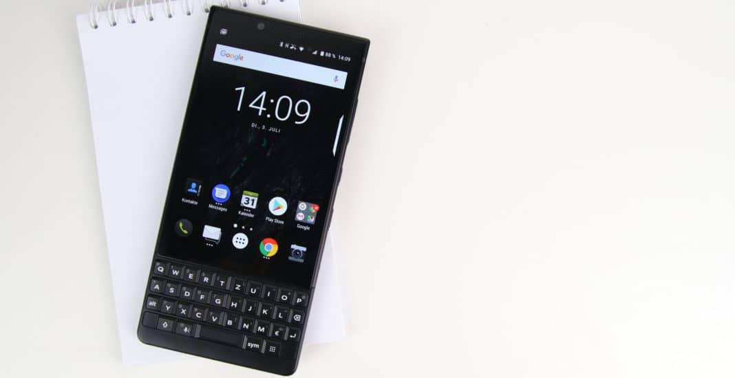 Blackberry KEY2 Test Bild
