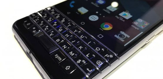 BlackBerry Mercury BlackBerry DTEK 70 Hands on
