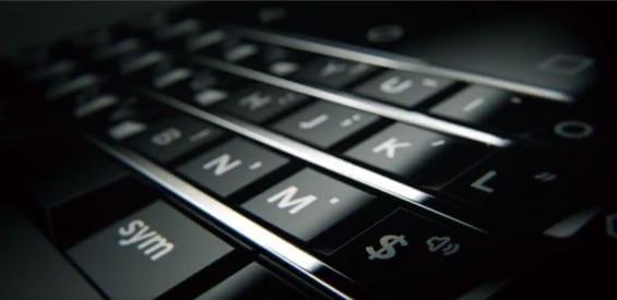 Blackberry Mercury Tastatur