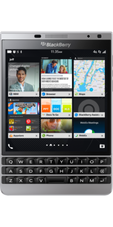 Blackberry Passport Front