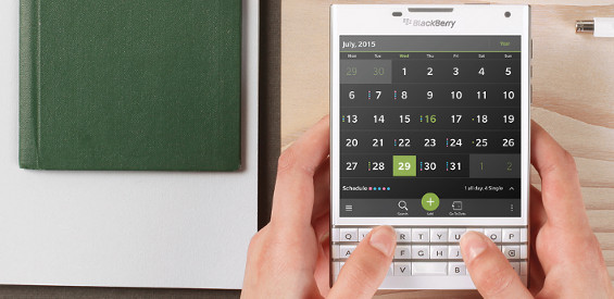 Blackberry Passport Weiß