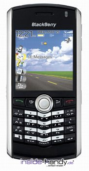 Blackberry Pearl 8100 Datenblatt - Foto des Blackberry Pearl 8100