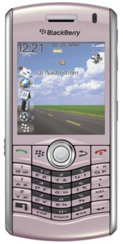 Blackberry Pearl 8110 Datenblatt - Foto des Blackberry Pearl 8110