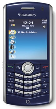Blackberry Pearl 8120 Datenblatt - Foto des Blackberry Pearl 8120