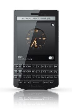 Blackberry Porsche Design P9983 Datenblatt - Foto des Blackberry Porsche Design P9983