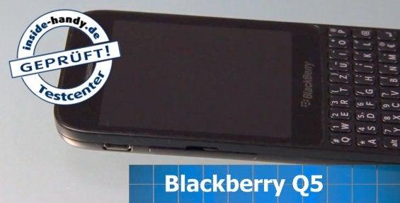 Blackberry Q5 im Test