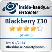 Blackberry Z30 Testsiegel