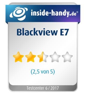 Blackview E7 Testsiegel
