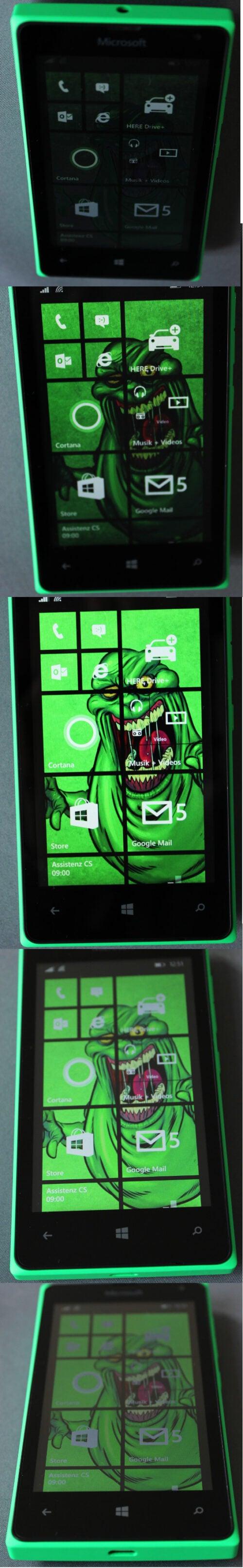 Blickwinkelstabilität Lumia 435