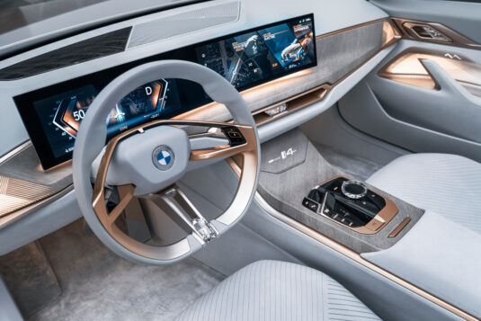 BMW Concept i4 Innenraum