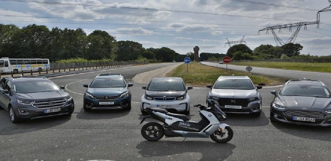 BMW, Ford, Groupe PSA zeigen V2X-Kommunikation