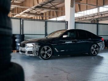 "BMW Group Versuchsträger ""Power BEV"""