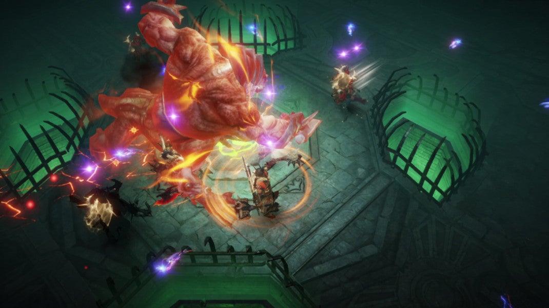Bossfight in Diablo
