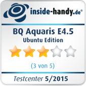BQ Aquaris E4.5 Ubuntu Edition Testsiegel