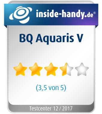 BQ Aquaris V Testsiegel